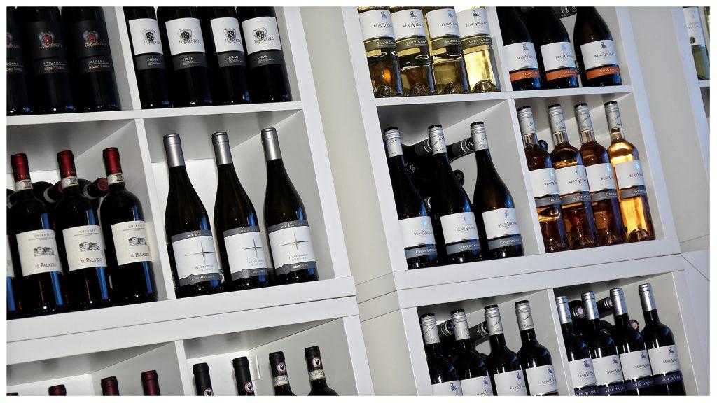Wijn en Druif-wijnen - Zeestraat Beverwijk